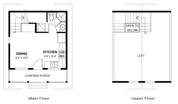 House plans the jay cedar homes for 300 sq ft apartment floor plan