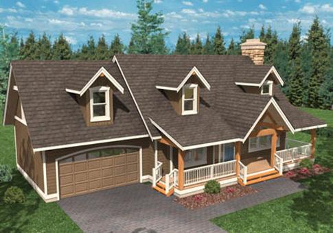 House Plans The Oregon Cedar Homes
