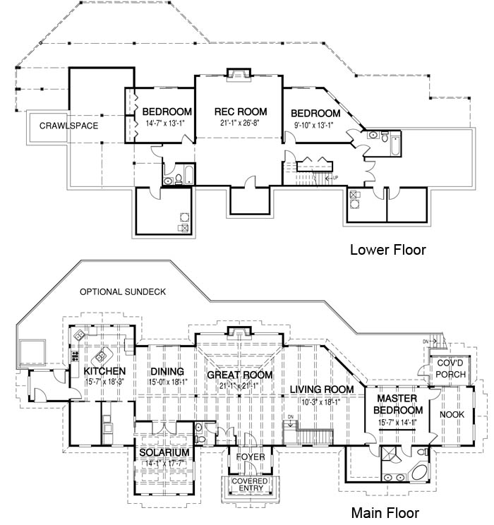 House plans the oxford cedar homes for Oxford floor plan