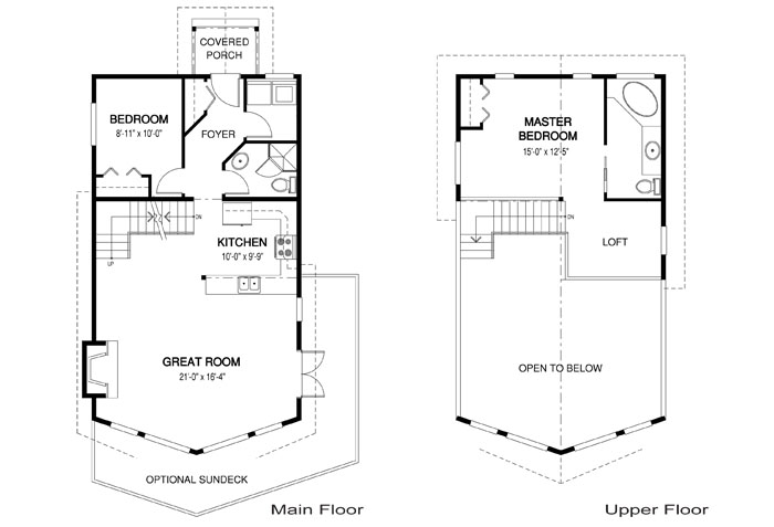 House Plans The Kingsbury 1 Cedar Homes