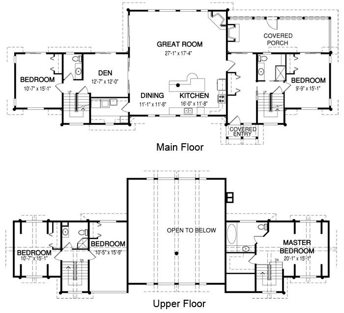 House plans the lenox cedar homes for Cedar house plans with photos