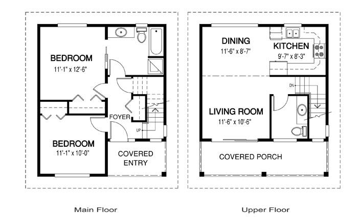House Plans The Oakhill Cedar Homes