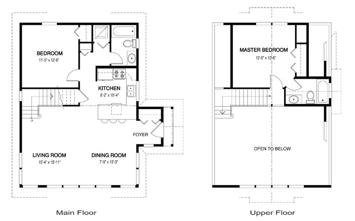 House plans the pacific cedar homes for Pacific home designs