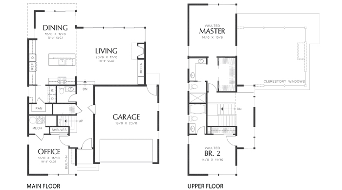 House Plans Dain 22179 Cedar Homes on Open Floor Plan With A Pictures Of Ranchers