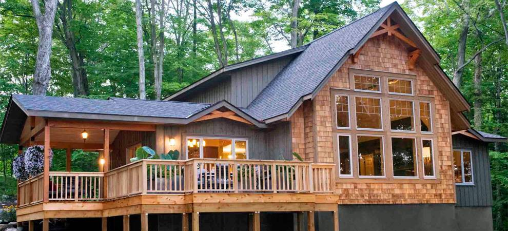 Cedar Homes Award Winning Custom Homes Post And Beam