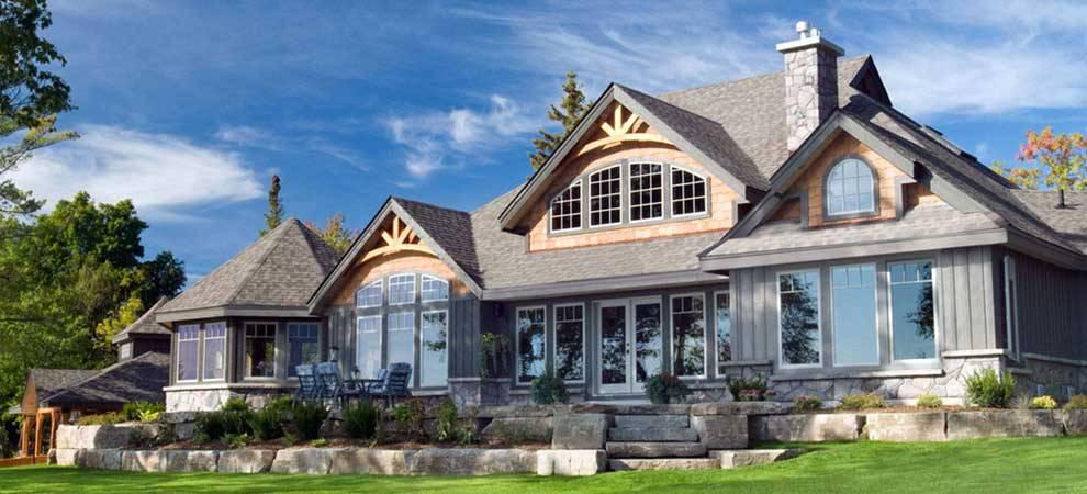 Custom homes san francisco award winning cedar homes for Custom cottage house plans