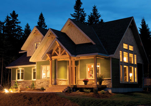 Anchorage Architectural Family Cedar Home Plans