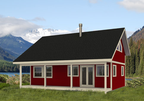 Kingfisher Architectural Family Cedar Home Plans