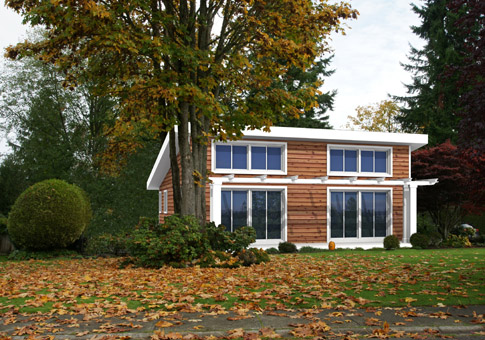 Naturals Architectural Family Cedar Home Plans