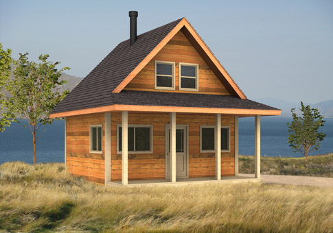 Puffin Architectural Family Cedar Home Plans