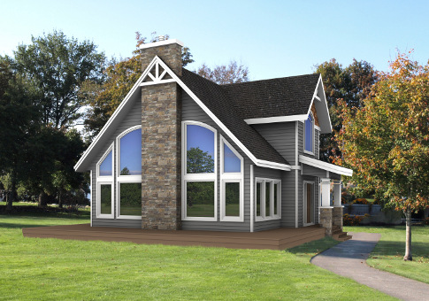 Shawnigan Architectural Family Classic Home Plans