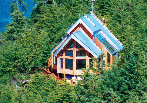 Sitka Post and Beam Family Cedar Home Plans