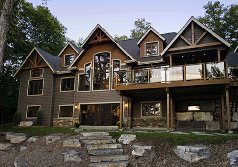 Gable Crest Cedar Homes