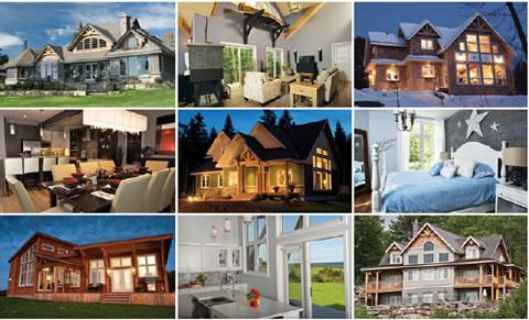 Custom Cedar Homes Gallery