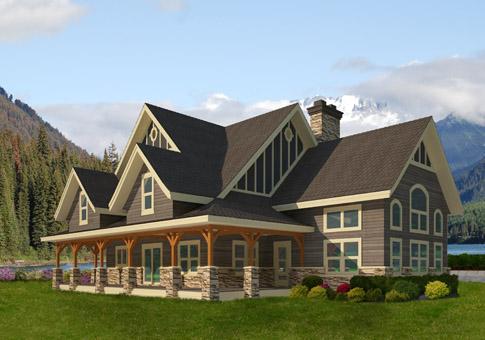 ainsworth-home-kits-485 - Custom Cedar Homes & House Plans