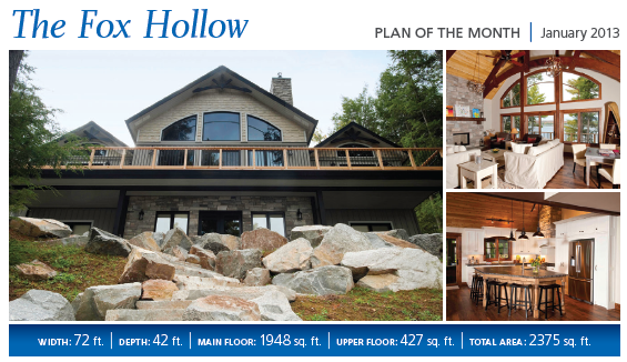 Plan of the Month – Fox Hollow Cedar Homes