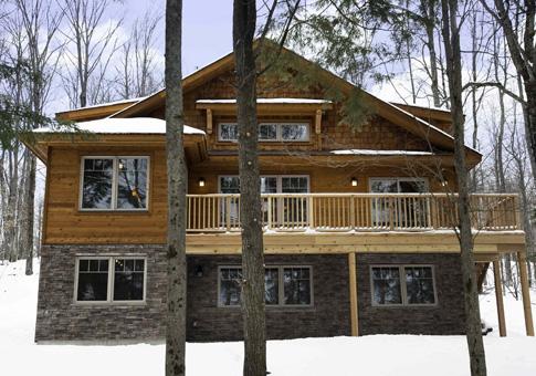 Linwood cedar homes floor plans floor matttroy for Cedar cabin floor plans