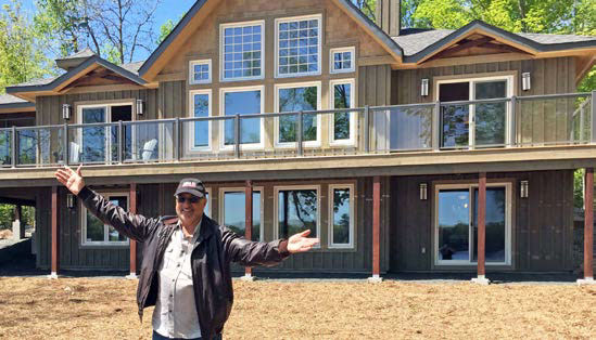 Linwood Dream Cottage Winner Embraces His Good Fortune