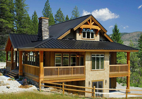 High Quality POST BEAM HOMES. Osprey 1 Plan Of Month