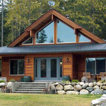 Cedar Homes Juneau 1 Post and Beam Plan Month