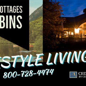 Custom Cottages Cabins Cedar Homes Lifestyle Dream Living