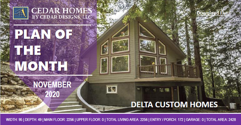 Delta Prow Cedar Homes Design House Kit POTM
