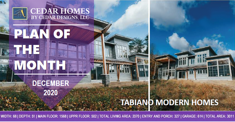Tabiano Cedar Homes Design House Kit POTM