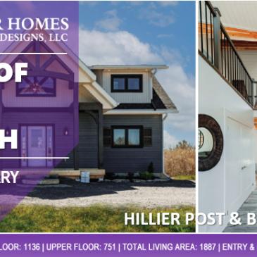 Post Beam Homes Hillier House Kit POTM