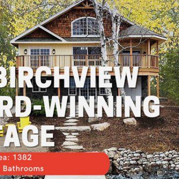 Video Birchview Cedar Homes Award Winning Custom Cottage