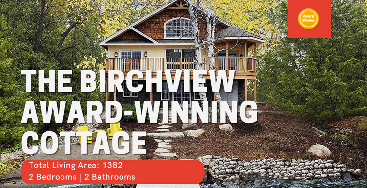 Video Birchview Cedar Homes Award Winning Custom Cottage