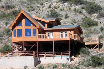 Colorado Cedar Home in Arizona