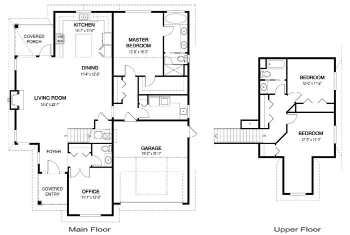 Anderson Floor Plan Cedar Homes