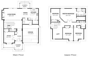 Wright Floor Plan Cedar Homes