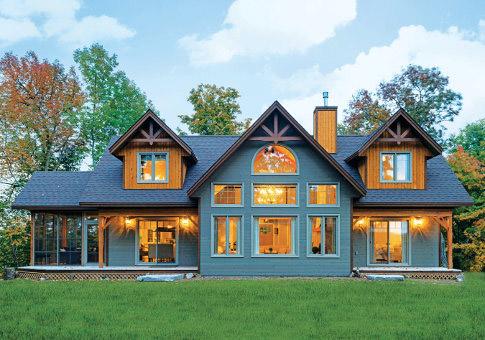 House Plans The Antler Trail Cedar Homes