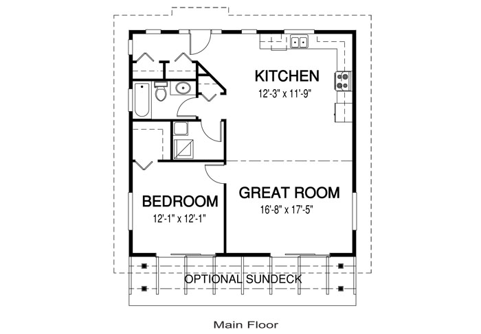 Naturals 1 Floor Plan Cedar Homes