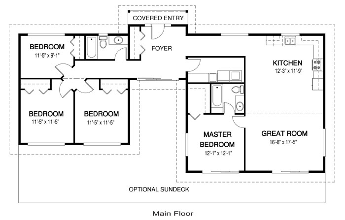 basic home floor plans house plans the naturals 4 cedar homes 15770