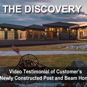 Video Discovery House Plans Post and Beam Homes Design
