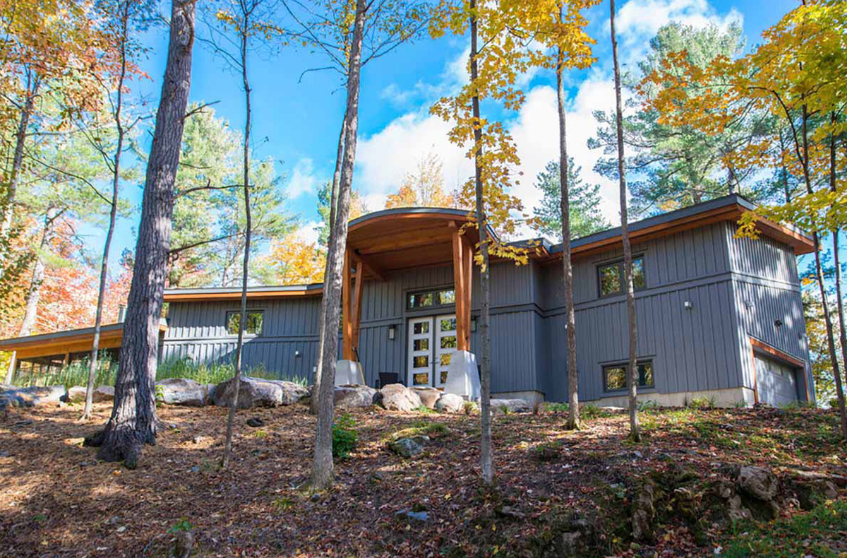 Custom Modern Cedar Home Design