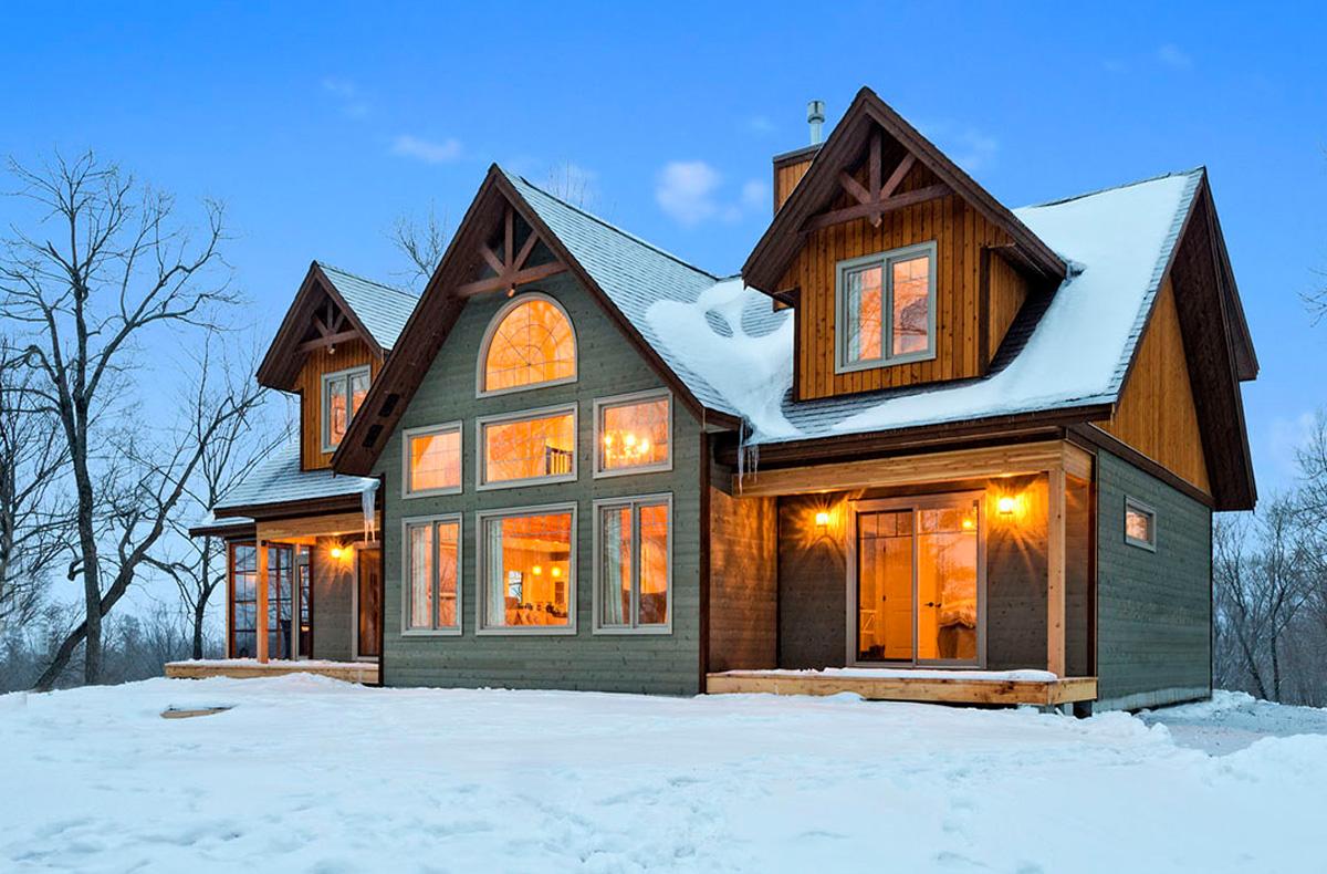 House Plans Antler Trail Custom Post Beam Cedar Homes