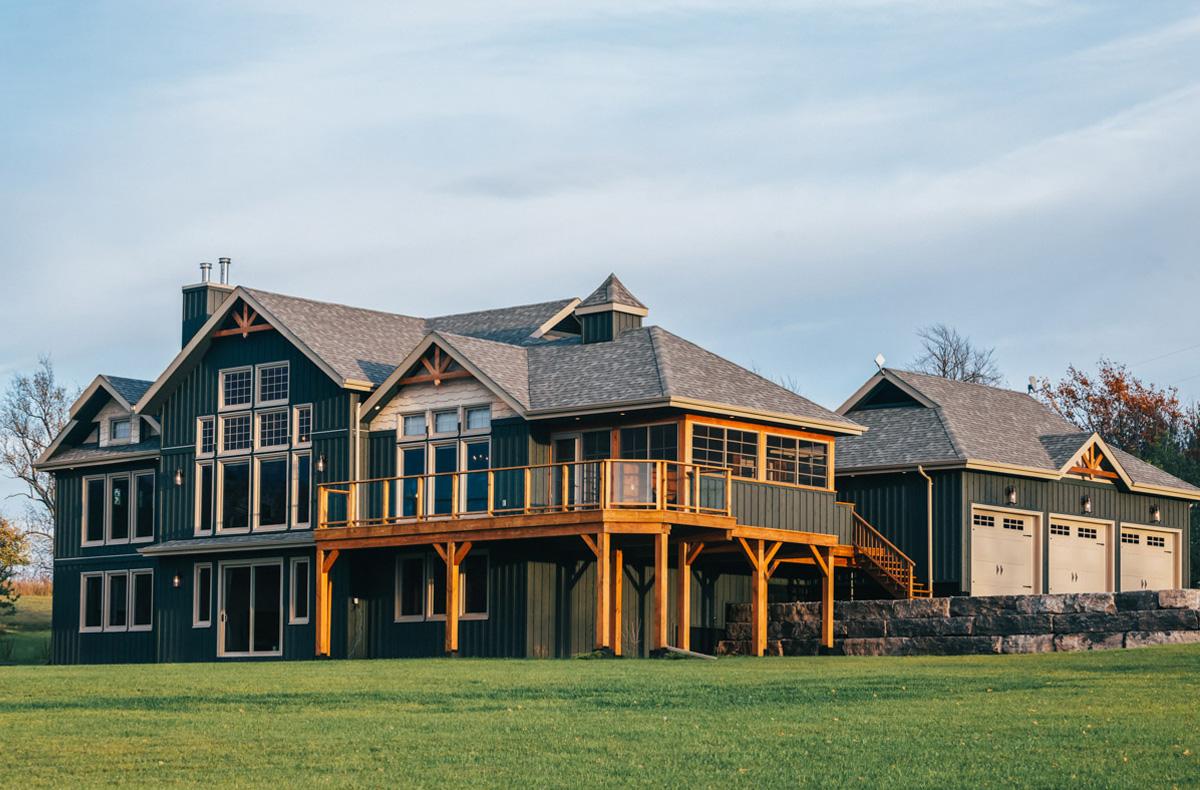 House Plans Brookfield Custom Post Beam Cedar Homes