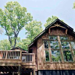 Shorehaven Custom Post Beam Cedar Homes