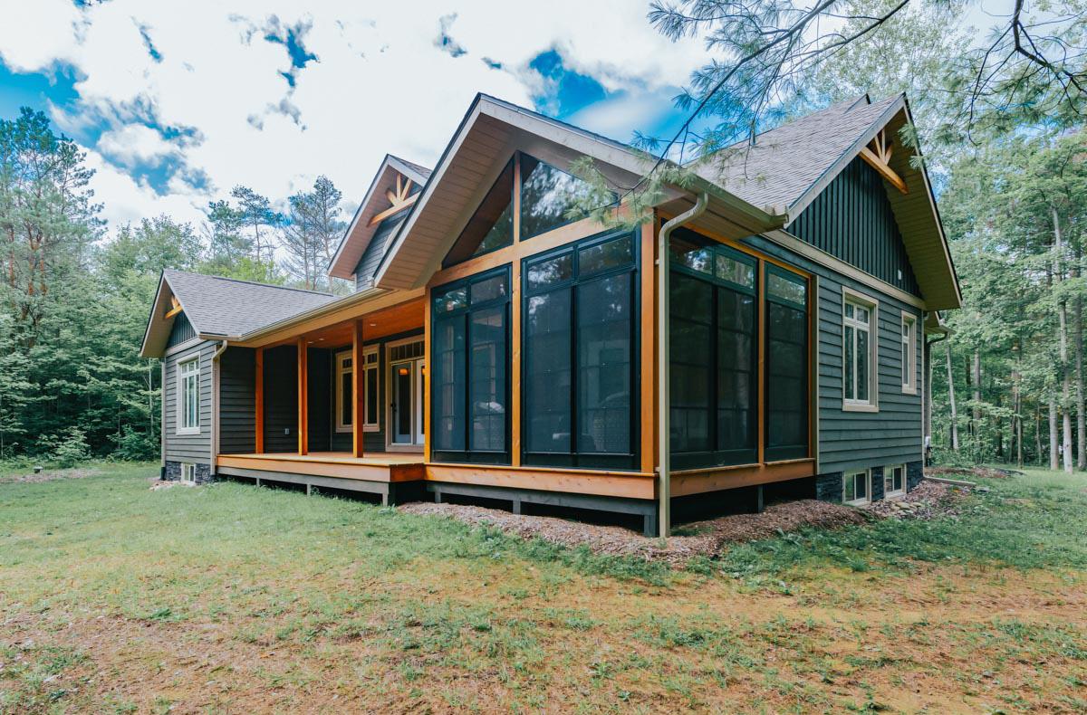 House Plans Summersweet Custom Post Beam Cedar Homes