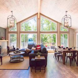 Lakewoods Custom Post Beam Cedar Home Cabin