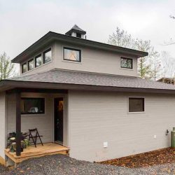 Pinetree Custom Modern Cedar Home Designs