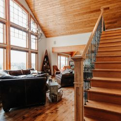 Brookfield Custom Post Beam Cedar Homes