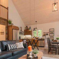 Wood Lake Custom Post Beam Cedar Home Cabin