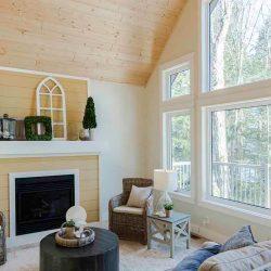 Cavendish Custom Post Beam Cedar Home Cabin