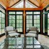 summersweet post beam homes sunroom