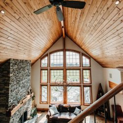 Brookfield AWARD WINNING Custom Post Beam Cedar Homes