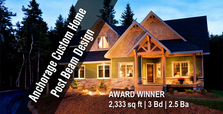 Anchorage Award Winning Custom Contemporary New Home